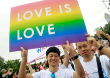 Protests for and against same-sex marriage rock Taiwan