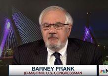 """MAGA Life Coach"" claims that ""gay, lispy f*ck"" Barney Frank was behind Joe Biden's speech"