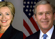 Is George W. Bush going to vote for Hillary Clinton over Donald Trump?