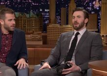 Chris Evans on supporting his gay brother and human rights during 'tricky times'