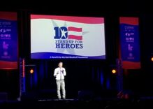 Jon Stewart tears into Trump during rare stand-up set at charity event