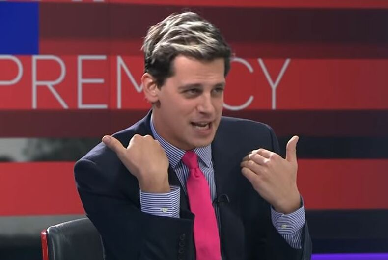"""Milo Yiannopoulos swears """"vengeance"""" on Republican party as Trump's fate is sealed by SCOTUS"""