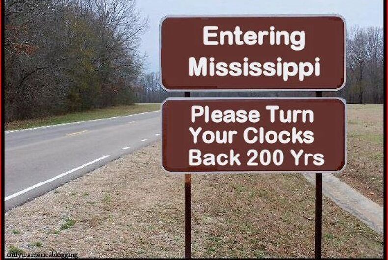 Mississippi asks court to uphold law allowing discrimination against LGBT people
