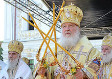 Russian Orthodox patriarch compares same-sex marriage to Nazi laws and apartheid