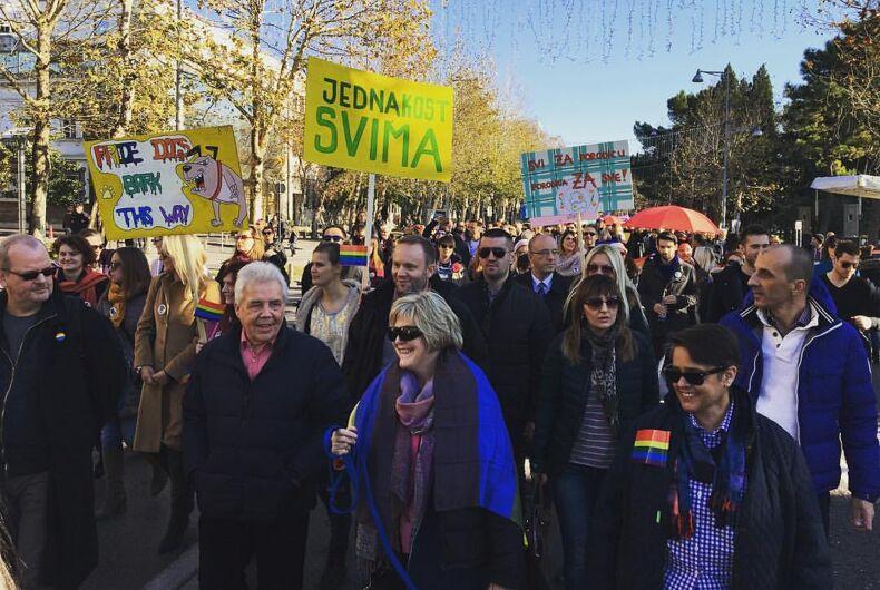Conservative Montenegro celebrates fourth annual Pride