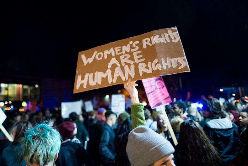 women against Trump
