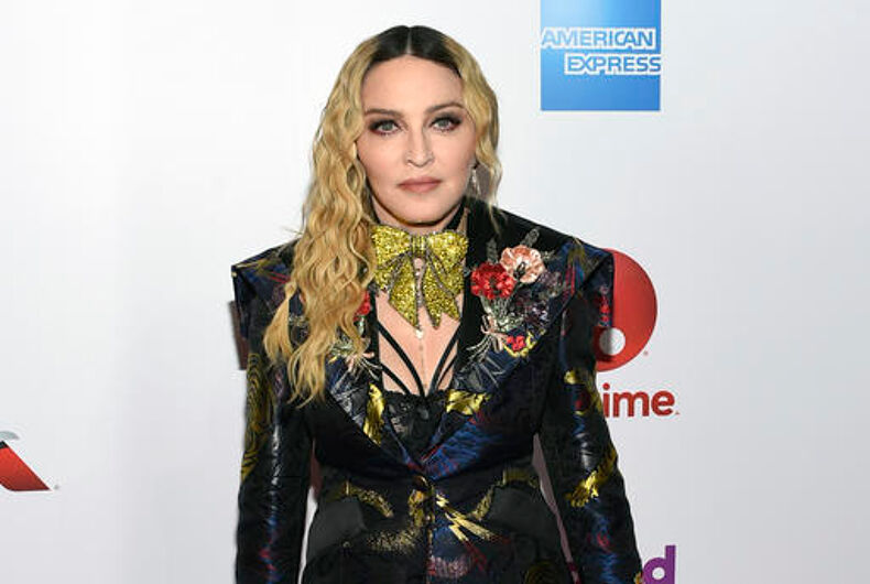 Madonna gets emotional accepting Billboard Woman of the Year award