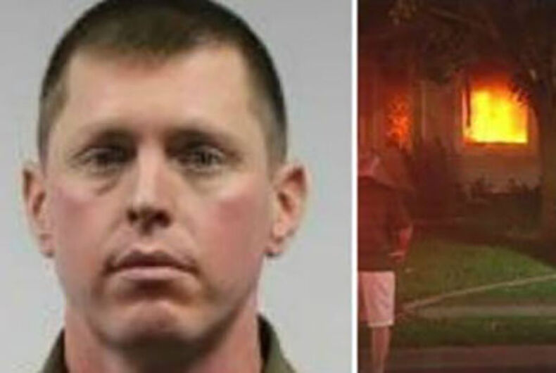 Firefighter charged with burning his own house, blaming Black Lives Matter