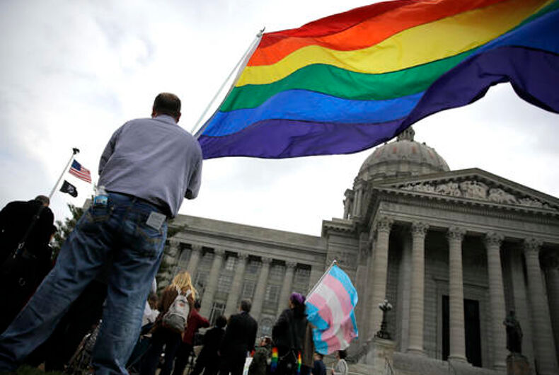 Missouri lawmaker proposes eliminating gay — and straight — marriage