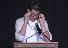 Milo Yiannopoulos harasses transgender student on stage in Milwaukee