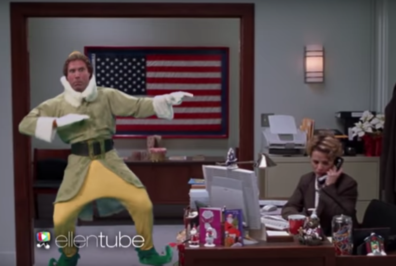 Watch: Ellen DeGeneres' holiday movie remix will make you want to dance