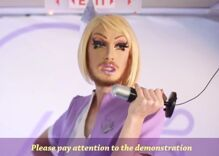 These drag queen flight attendants make safety instructions fun