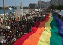 Tens of thousands celebrate at Rio Pride Parade