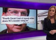 Samantha Bee destroys Trump and NC governor for fake claims of voter fraud