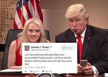 Trans activist goes viral for epic slapdown of Trump's SNL tweets