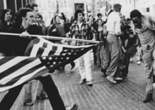 The Stars and Stripes as a symbol of pride and a weapon of hate