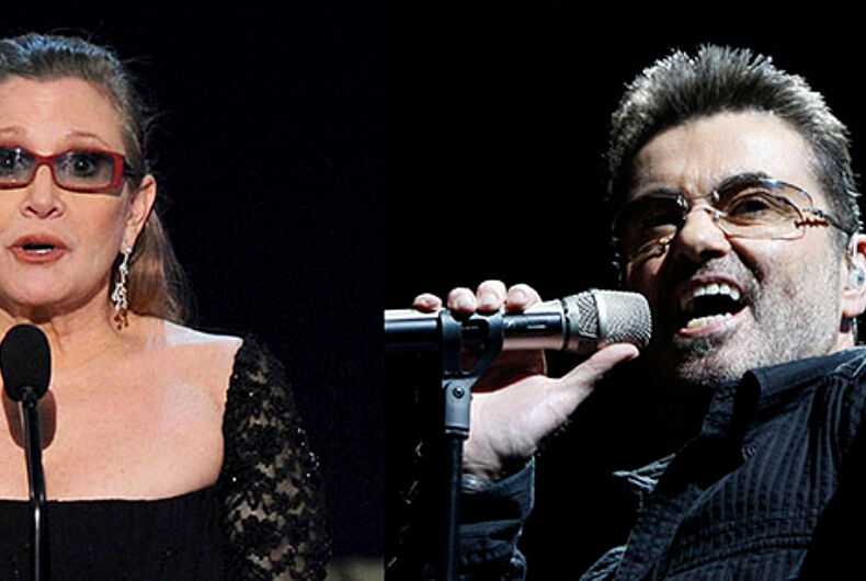 Franklin Graham: Carrie Fisher & George Michael are in hell unless they repented