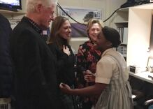Hillary Clinton cheered at last performance of Broadway's 'The Color Purple'