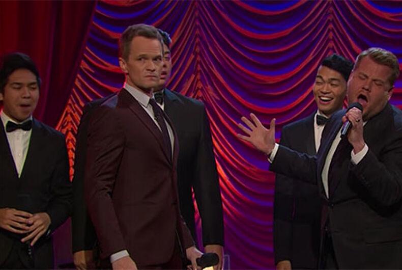 Neil Patrick Harris & James Corden's Broadway musical riff-off is must-watch TV