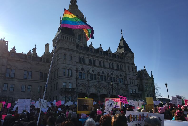 10,000 people march in Connecticut in support of women