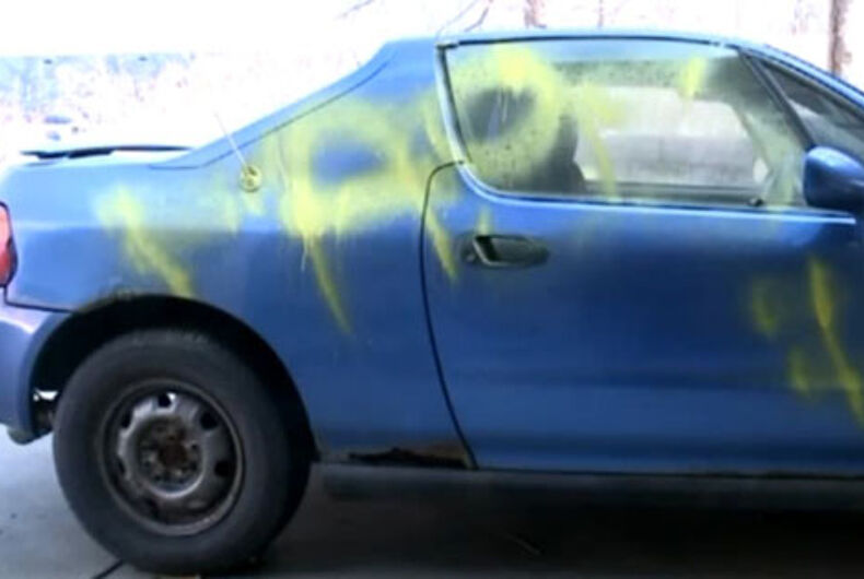 Kansas City gay man terrorized at home by gun-toting vandals