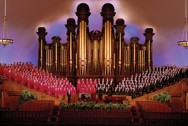 A perfect match: The Mormon Tabernacle Choir and Trump's inauguration