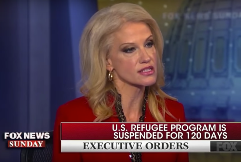 """Kellyanne Conway: Turning away Muslims is """"a small price to pay"""" for safety"""