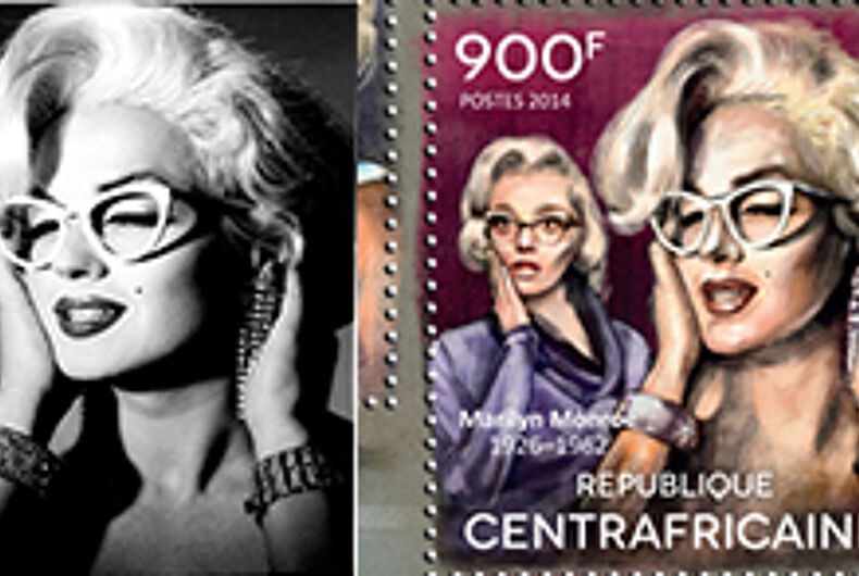 African nation accidently uses trans woman's image for Marilyn Monroe stamp