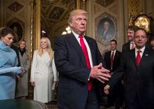Trump's inauguration adds to weakening of separation of Church and State