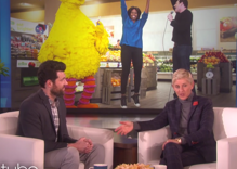 Billy Eichner went to the Obama farewell party and told Ellen all about it