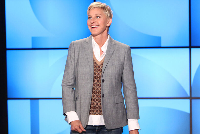 Ellen hasn't forgotten Elton John's nasty comment about her coming out