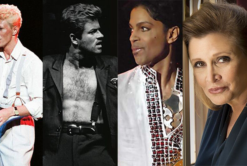 Why were LGBTQ Gen Xers so devastated by last year's celebrity deaths?