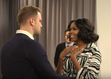 Michelle Obama and Jimmy Fallon gave fans the surprise of their lives