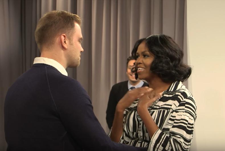 Michelle Obama Jimmy Fallon