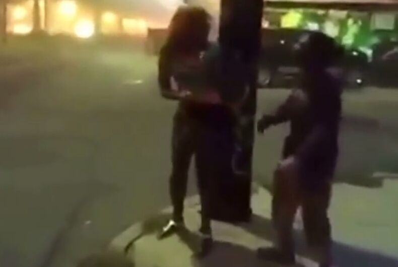 Haunting video: Men hunt transgender woman through streets of New Orleans