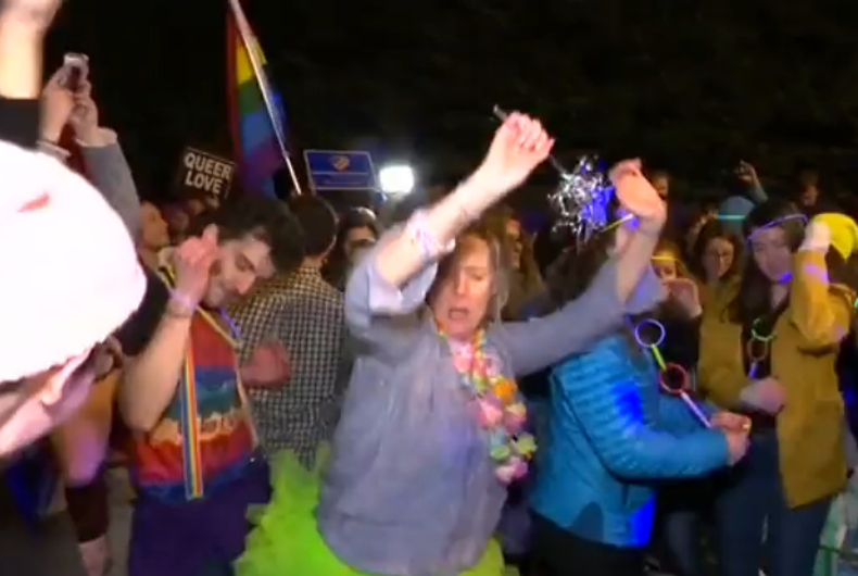 queer dance party pence