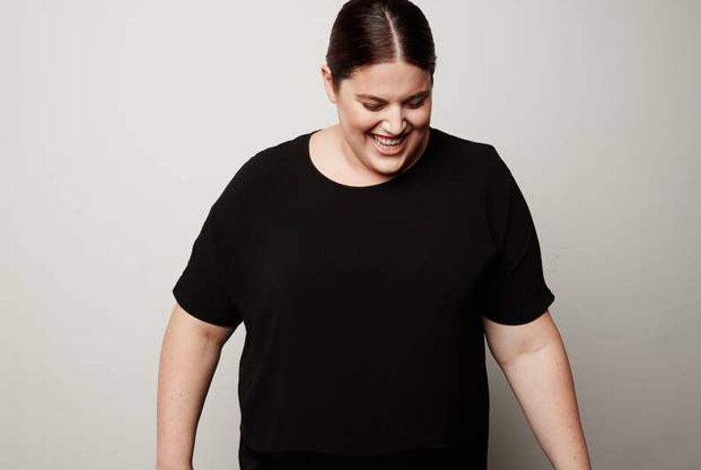 Meet the first plus-size trans model in a major fashion campaign