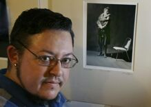 Art exhibit looks at what it means to be transgender