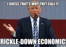 Social media erupts in laughter at 'golden shower' Trump memo