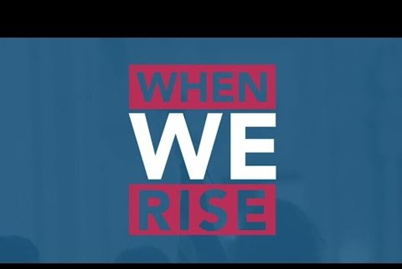 Trump's address to Congress will bump LGBTQ rights miniseries 'When We Rise'