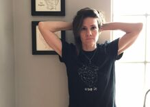 Cameron Esposito turns transphobic Huckabee tweet into cash for Trans Lifeline