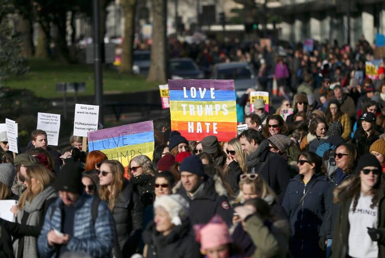 Why LGBTQ people should be in the streets protesting Trump's Muslim ban