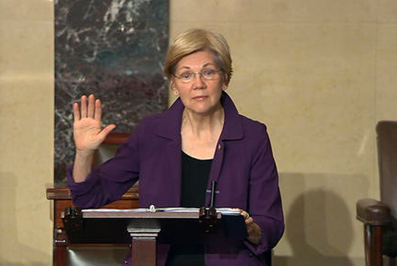 Senate Republicans silence Elizabeth Warren for quoting Corretta Scott King