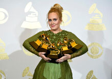 Adele stole the Grammys last night with her emotional tribute to Beyonce