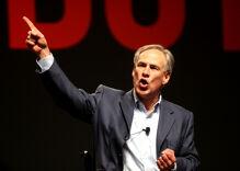 Texas governor stops short of endorsing 'bathroom bill' as celebrities protest