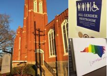 Burglar breaks into church, leaves Bible verse condemning gays and thieves