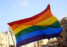 This guy's lawsuit said that the rainbow flag is a religious symbol. He just lost.