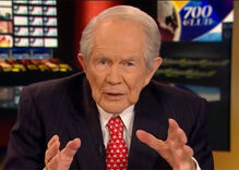Pat Robertson: People protesting Trump are 'revolting against God'