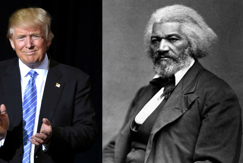 Trump's Frederick Douglass comment proves we still need Black History Month