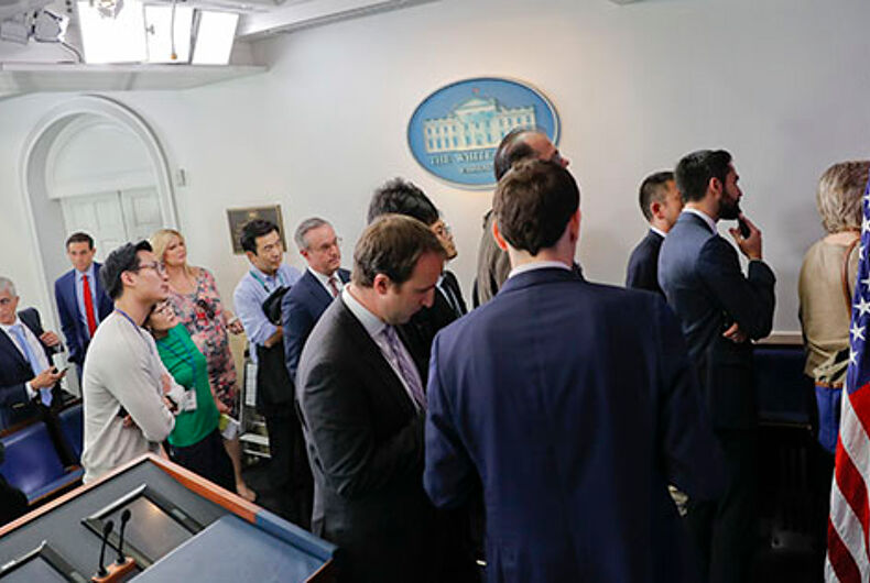 BREAKING: White House bars CNN, NY Times, LA Times & Politico from briefing